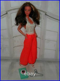 Vintage Barbie HTF FASHION PHOTO PJ DOLL STEFFIE FACE IN BEST BUY #7746 JUMPSUIT