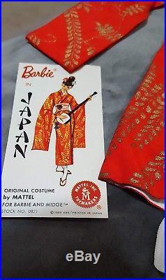Vintage Barbie In Japan #821 (1964) Near Complete