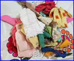 Vintage Barbie Lot 1966 Japan 1962 Midge Dolls w Case Clothes Accessories Other