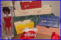 Vintage Barbie Lot, #3/4, TM Ponytail, Swirl, Bubble Cut, Outfit, Japan Heels, Box, Case