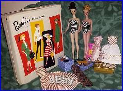 Vintage Barbie Lot, #3, #4 TM Ponytail, Tagged Clothes, Japan Heels, Pedestal Stand