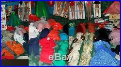 Vintage Barbie Lot, 8 Dolls, #3/4,5,6, Ponytail, Clothes, Boxes, Case, Japan Heels