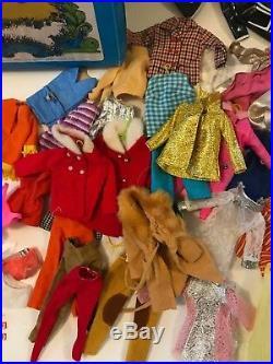 Vintage Barbie Lot JULIA P. J. COCO Go-Go TNT Mod Clothes 1966 Japan Dolls