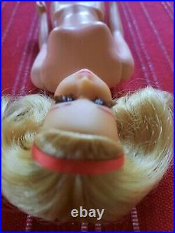 Vintage Barbie Mod Era 1971 Twist N Turn No Bangs Francie