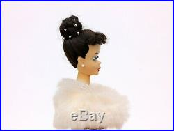 Vintage Barbie No. 850 #3 Barbie Ponytail Brunette with #983 Enchanted Evening