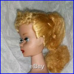 Vintage Barbie Ponytail # 3/4 Japan#850 Blond NudeCrayon Fragrant Body