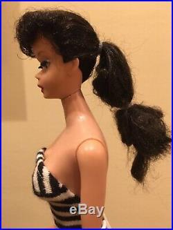 Vintage Barbie Ponytail Doll with Original Make-up Stunning