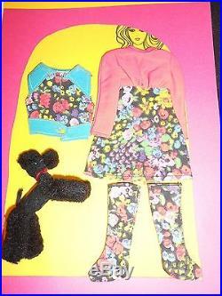Vintage Barbie Put Ons #1061 Poodle Doodles 1972 RARE HTF