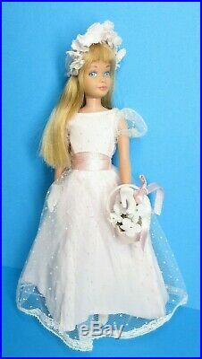 Vintage Barbie SKIPPER Doll Blonde Hair JUNIOR BRIDESMAID