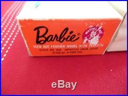 Vintage Barbie Titian Ponytail Mattel Japan Box Mint Wrist Tag Box and Booklet