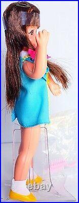 Vintage Barbie Tutti Brunette Friend European & Canadian Chris #8130 Doll Nice