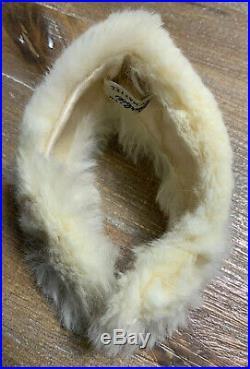 Vintage Barbie VHTF Rare GAY Parisienne #964 DRESS, White Fur #1 Shoes WOW