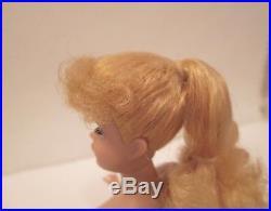Vintage Barbie doll ponytail blonde # 6 or 7 beautiful condition Japan