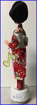 Vintage Bradley's Doll Creations Nib Japan Md403 Sukiyaki Song Bic Sankyo Orgel