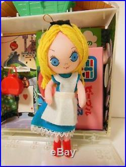 Vintage Disney Alice In Wonderland Doll 1967 Nintendo People House Japan Rare