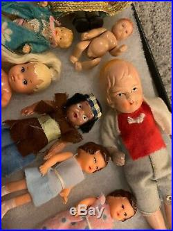 Vintage Doll Collection- Germany and Japan- Some As Old As 1930s