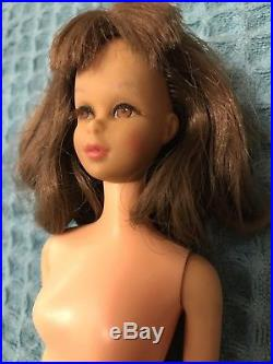 Vintage Francie Barbie Mattel Doll 1965 Japan Straight Leg Nude