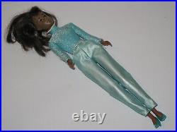 Vintage Francie Black 1966 Barbie Mod 60er Mattel Inc. Japan