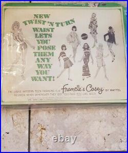 Vintage Francie Doll #1768 WALTZ IN VELVET NRFB 1970-1971