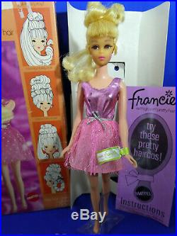 Vintage Francie withGrowin' Pretty Hair Tagged in Box with Accessories