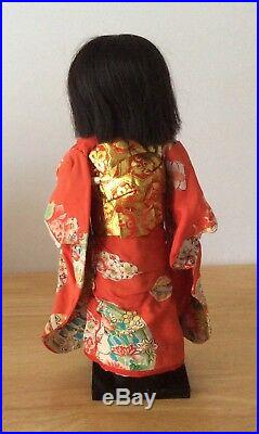 Vintage Japanese Ichimatsu Doll About 14 Rare Made In Occupied Japan