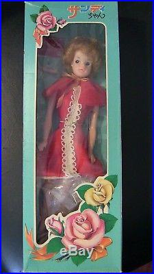 Vintage Japanese Sandy Doll exclusive from Japan NRFB from the 1970s in BOX
