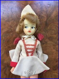 Vintage Japanese Tammy Ideal Doll With Drum Majorette Japan Exclusive Fashion