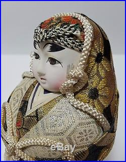Vintage Japanese dolls/ Daruma type Japanese dolls from JAPAN