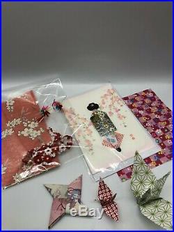 Vintage Japanese ichimatsu doll 24 inches rea kimono free shipping from japan
