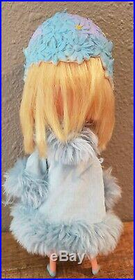 Vintage KAMAR Japan Big Eye RARE Blonde Hair Mona Doll