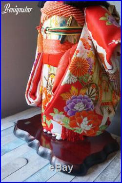Vintage Large Japanese Ichimatsu Doll