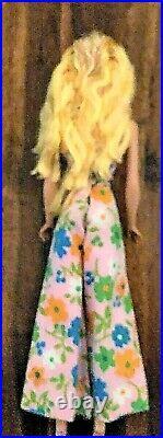 Vintage Lemon Blonde Swirl Ponytail Barbie NM and GORGEOUS