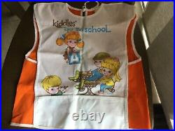 Vintage Liddle Kiddles Childs Art Smock RARE. Not in any books