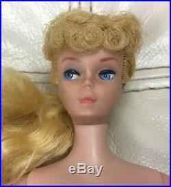 Vintage Mattel 1958 MCMLVIII Barbie Doll Made In Japan MY2