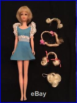 Vintage Mattel 1969 MOD FRANCIE #1122 HAIR HAPPENIN'S Doll JAPAN