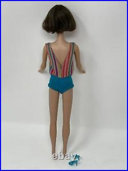 Vintage Mattel BRUNETTE Hair AMERICAN GIRL Barbie DOLL