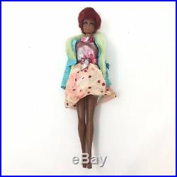 Vintage Mattel Barbie 1966 Francie Twist N Turn Doll With Outfit Made In Japan XX5