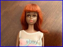 Vintage Mattel Barbie Black Francie Stunning Doll With Original Swimsuit