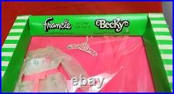 Vintage Mattel Barbie Francie & Becky MIDI Duet #3451 Moc Mib Nrfb