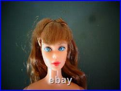 Vintage Mattel Barbie Standard Doll #1190 Straight Leg