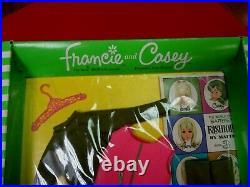Vintage Mattel Barbiefrancie & Casey # 1266 Quick Shift Moc Nrfb No Reserve