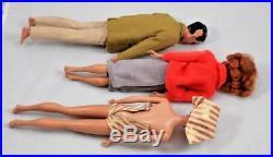 Vintage Mattel Ponytail Barbie Ken Midge Japan Original Clothes Books Lot 75 pc