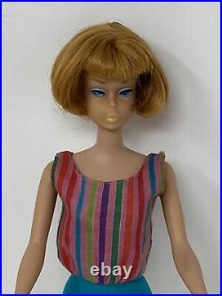 Vintage Mattel TITIAN Red Hair AMERICAN GIRL Barbie DOLL All Original