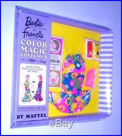 Vintage Mod 1967 Barbie Francie Color Magic Bloom Bursts TNT Era NRFB Japan