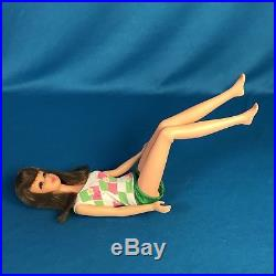 Vintage Mod 1967 Brunette Bendable Leg Francie Japan Minty W Booklet