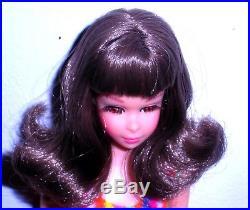 Vintage Mod 1967 Brunette Flip Twist N Turn TNT Francie 1170 Japan Mint