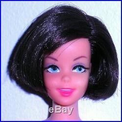 Vintage Mod 1967 Brunette TNT Twist N Turn Casey Francie Doll Japan