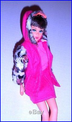 Vintage Mod 1967 Chocolate Bon Bon Twist N Turn TNT Barbie 1160 Japan Mint