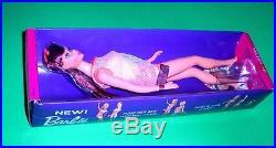 Vintage Mod 1967 Eggplant Redhead Twist N Turn TNT Barbie 1160 Japan MIB Mint