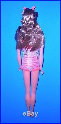 Vintage Mod 1967 Go Go Cocoa Twist N Turn TNT Barbie Japan 1160 Mint
